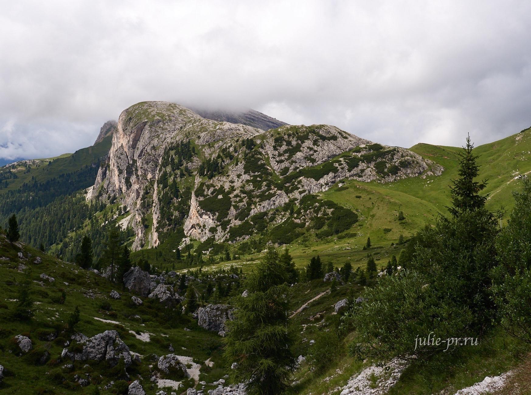 Италия, Альпы, Доломиты, Settsass