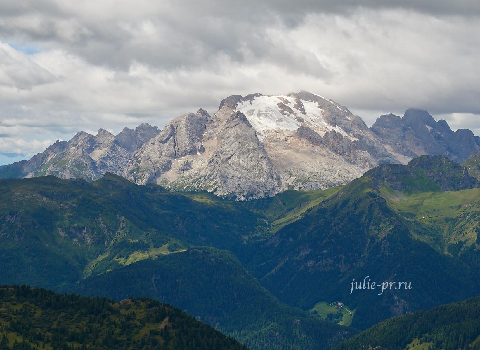 Италия, Альпы, Доломиты, Marmolada