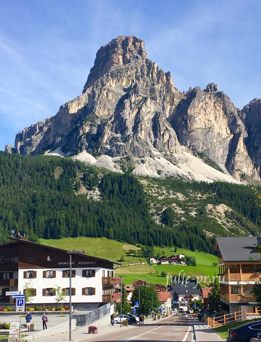 Италия, Альпы, Доломиты, Corvara
