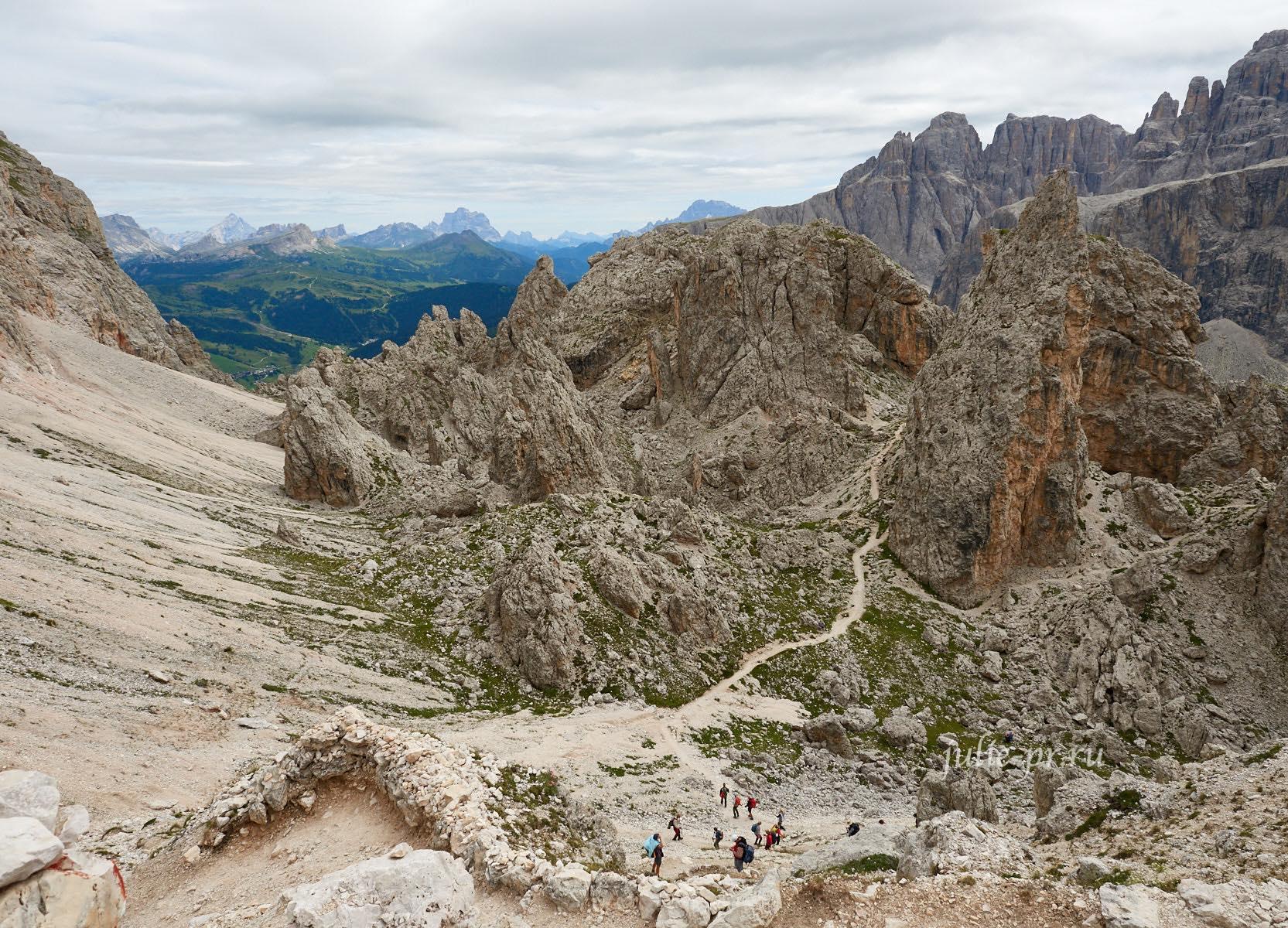 Италия, Альпы, Доломиты