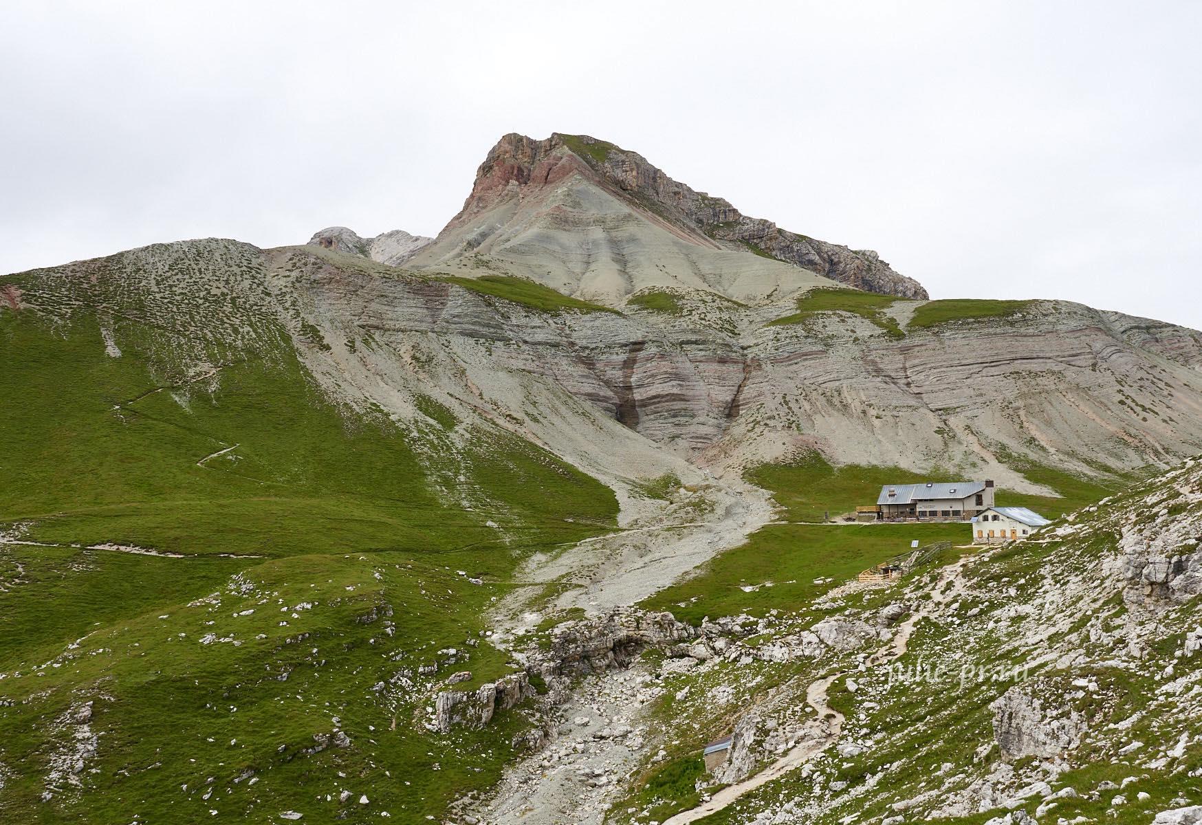 Италия, Альпы, Доломиты, Rifugio Puez