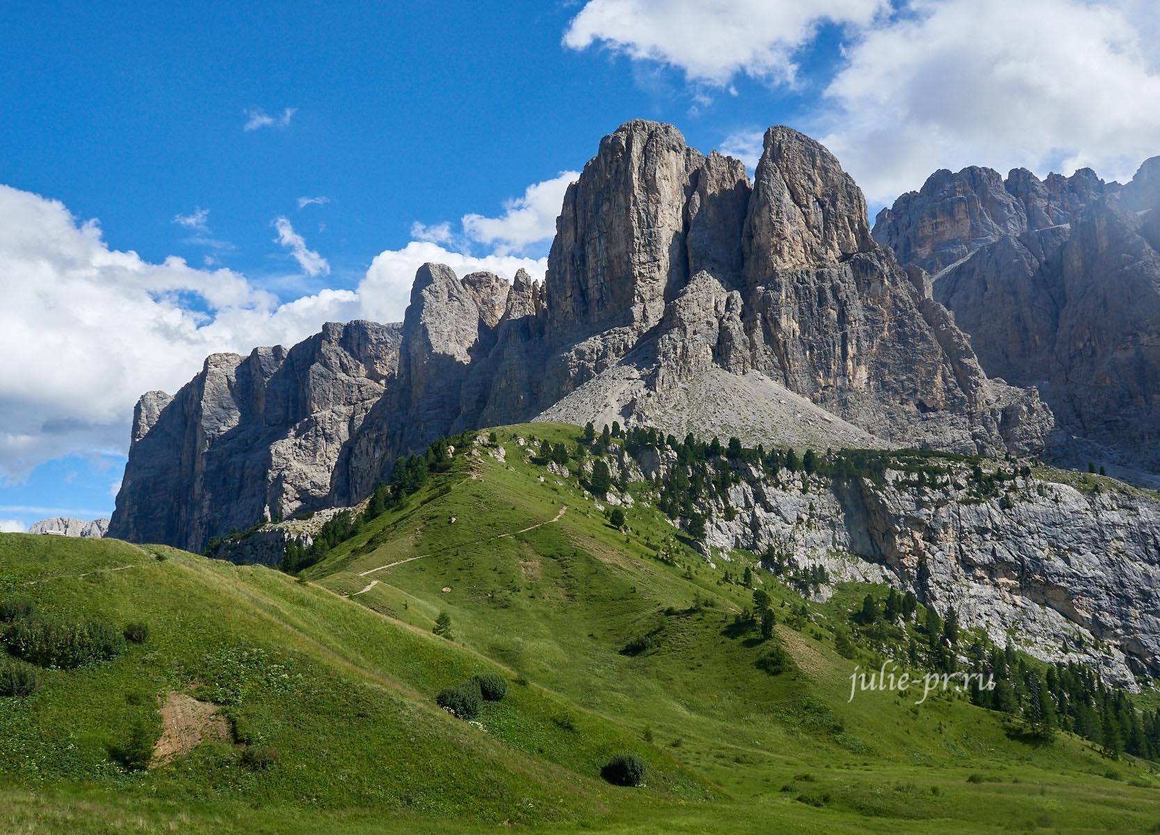 Италия, Альпы, Доломиты, Sella
