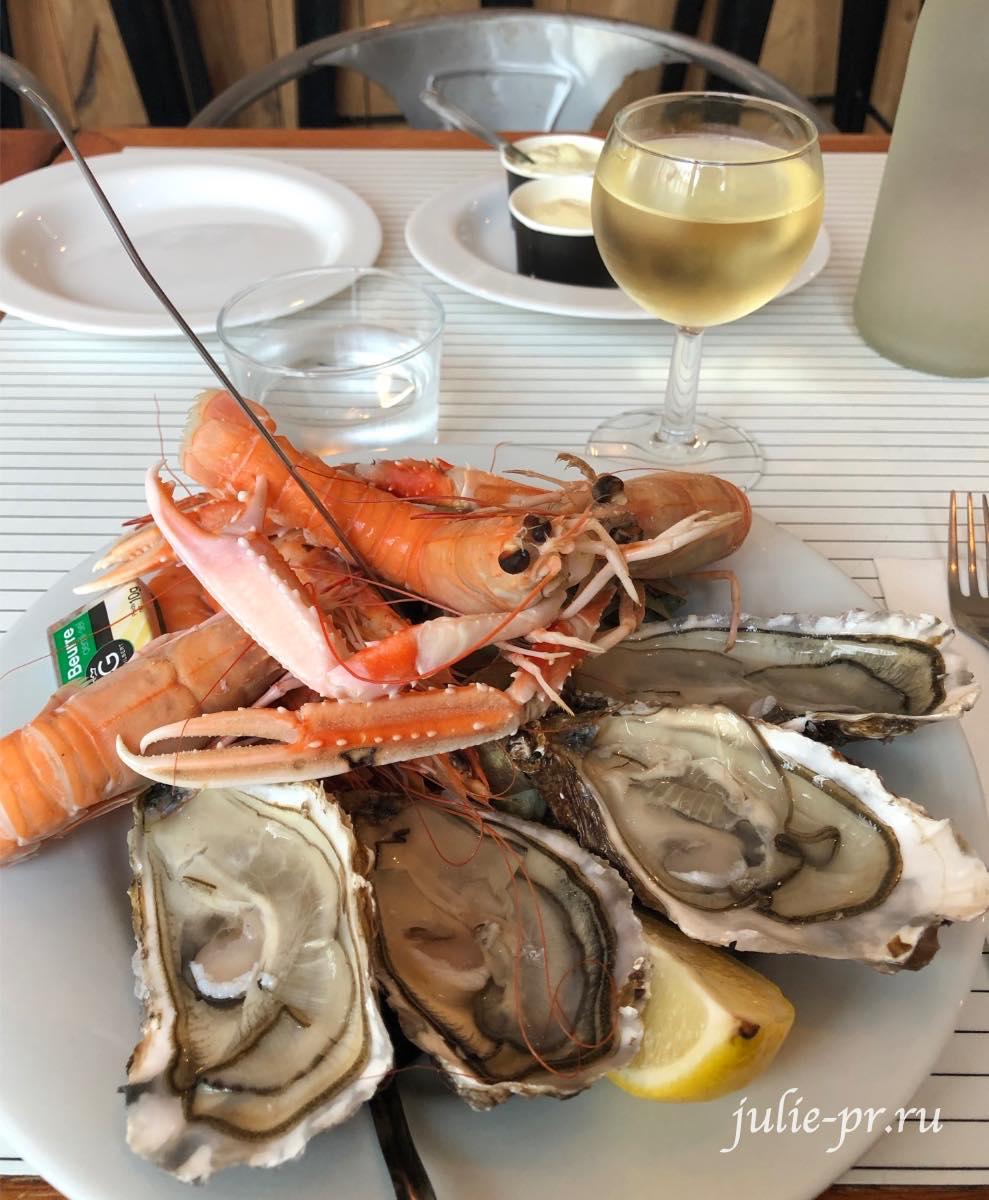 Ла-Рошель, Франция, ресторан Le panier de Crabes