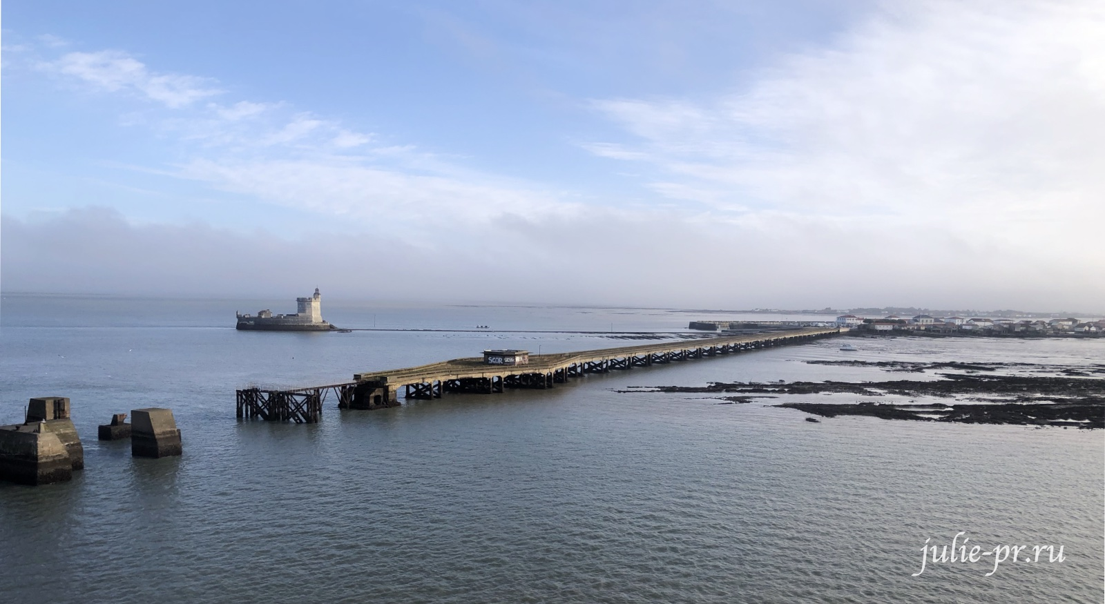 Дорога на остров Олерон