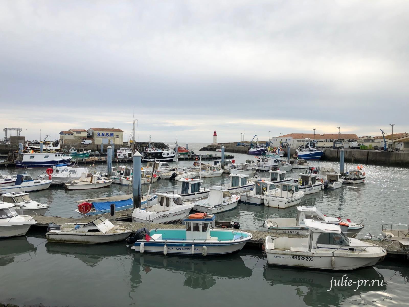 Франция, остров Олерон, Ла Котиньер