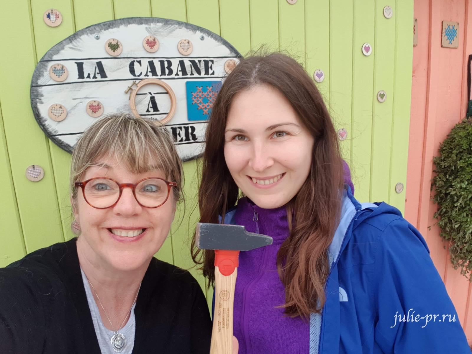 Isabelle Vautier, вышивка крестом, магазин Изабель Вотье, остров Олерон