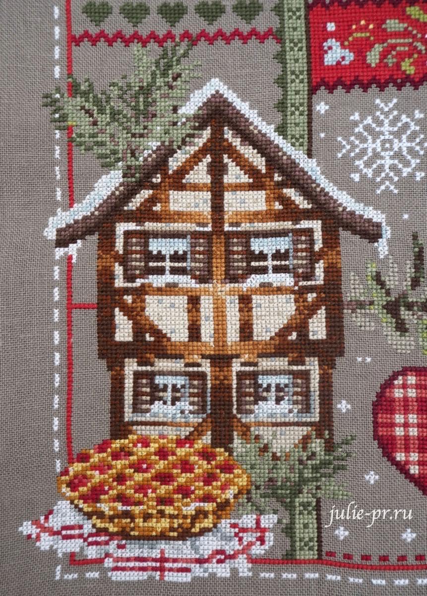 Вышивка крестом Noel en Alsace / Рождество в Эльзасе по схеме Madame la Fee