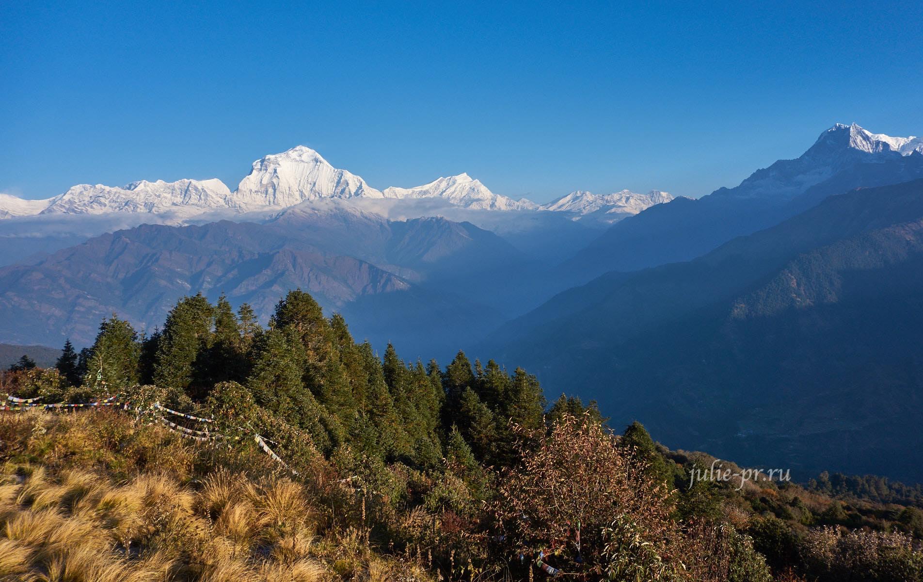 Непал, Аннапурна, Дхаулагири, Пун-Хилл