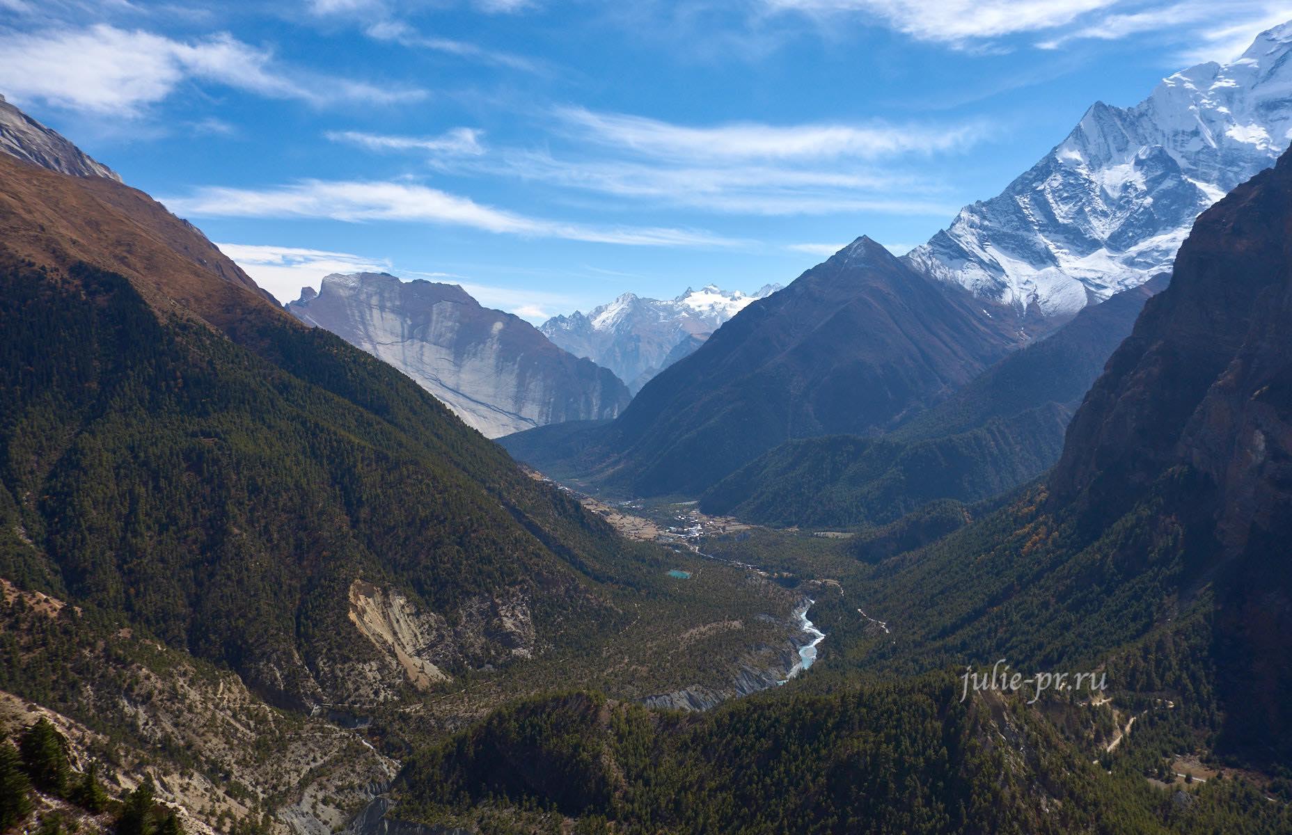 Непал, Трек вокруг Аннапурны, Долина Марсъянди