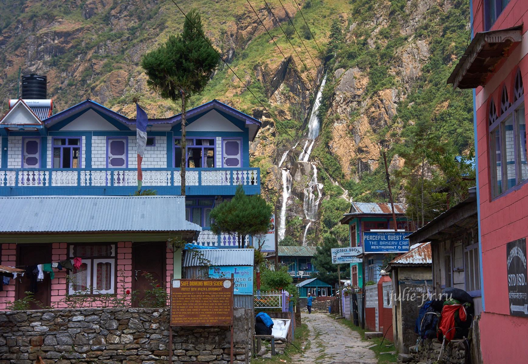 Непал, Трек вокруг Аннапурны, гостевые дома