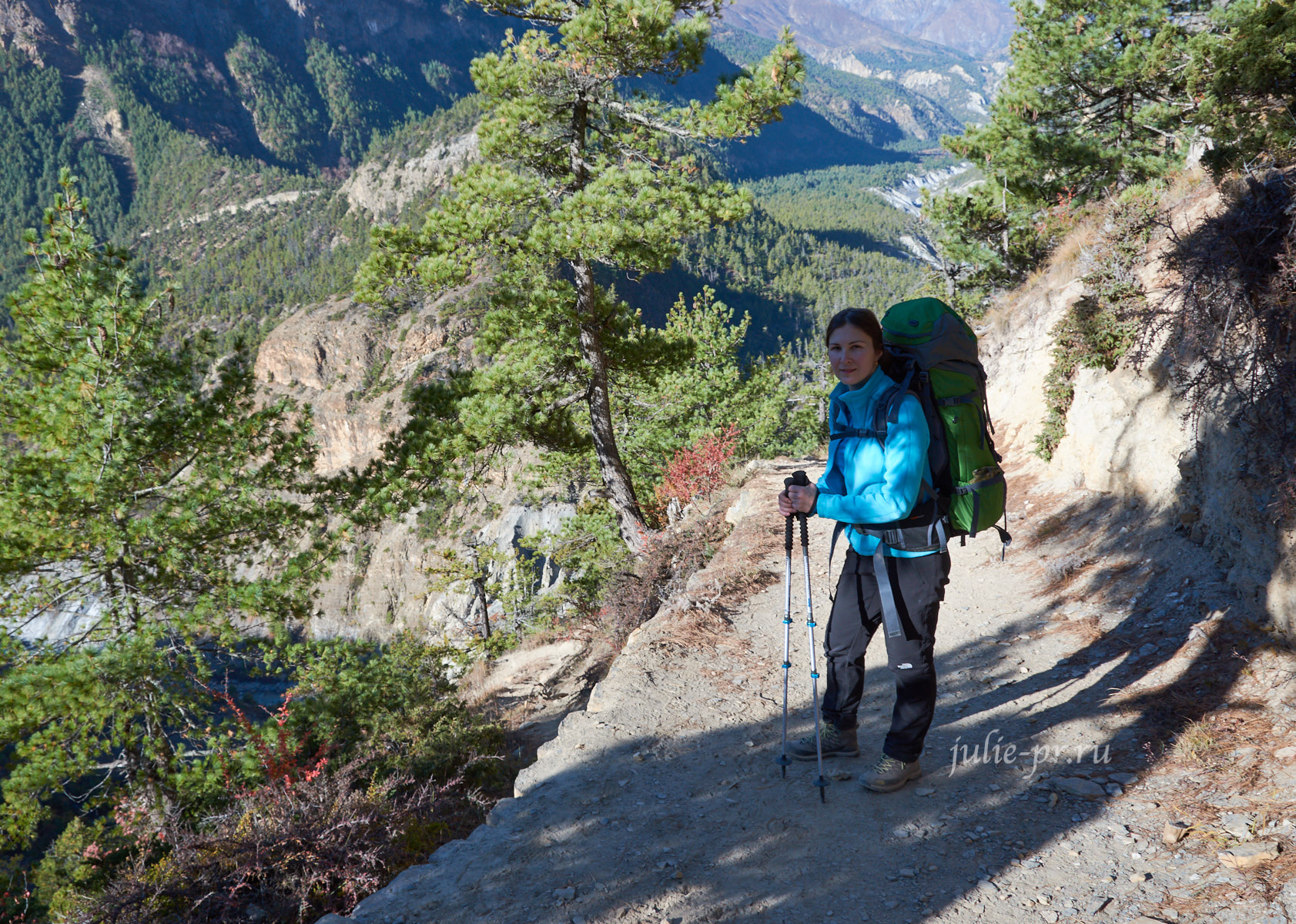 Непал, Трек вокруг Аннапурны, Туристы