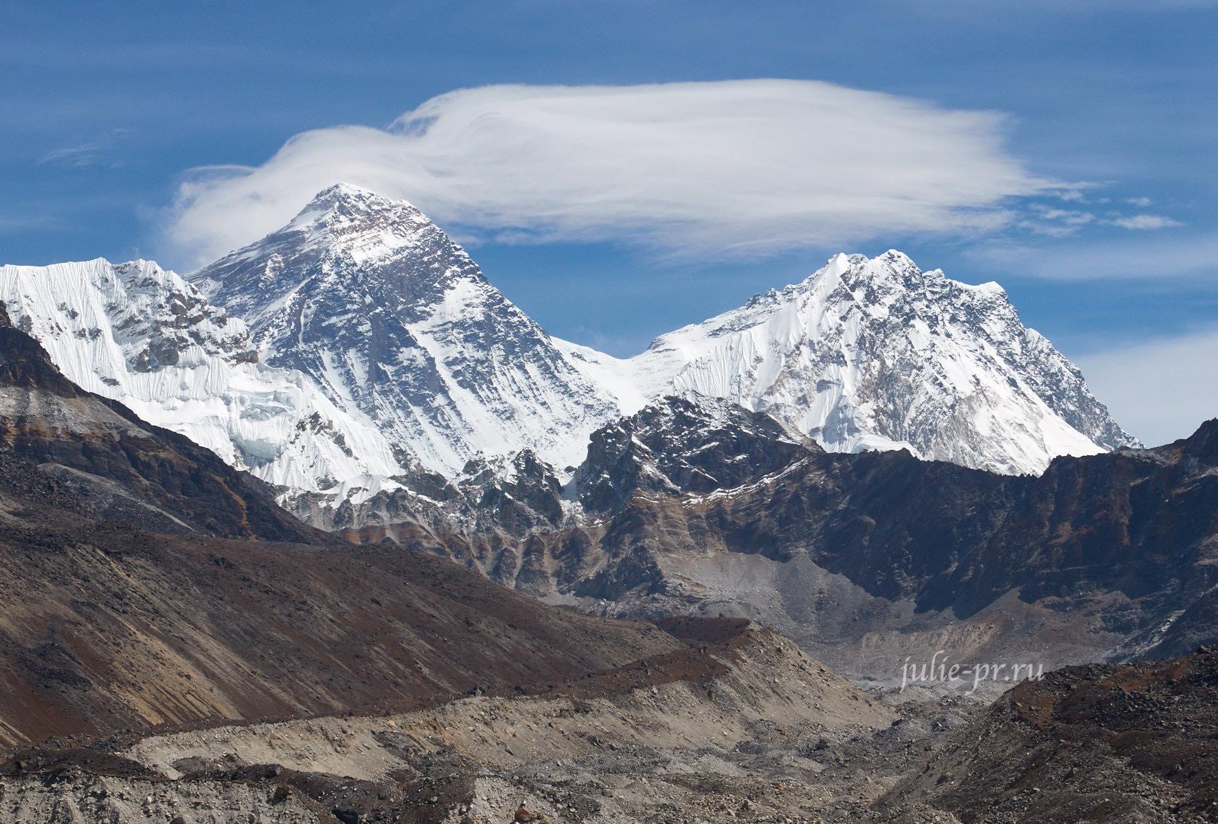 Непал, Эверест, Everest, Nuptse