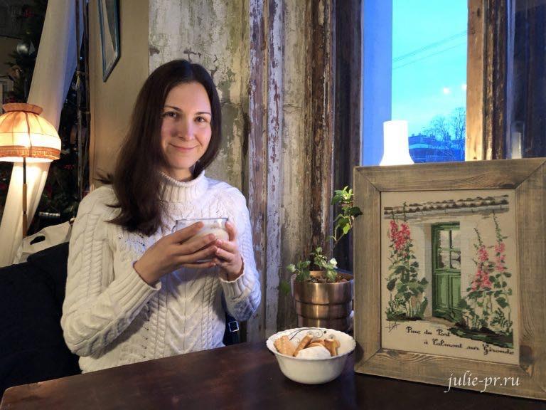 Isabelle Vautier Rue du port, вышивка крестом, Юлия Лапутина