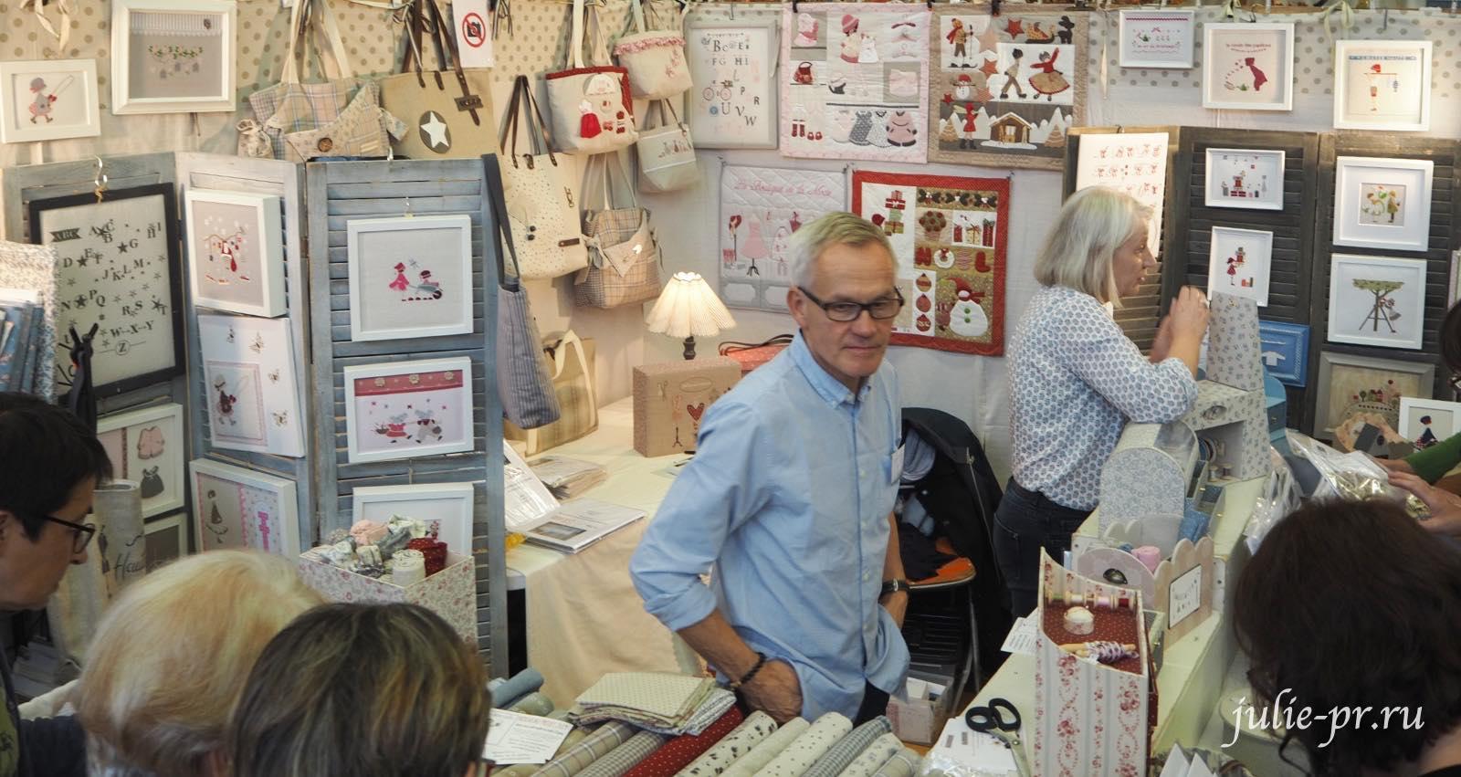 Le comptoir d'Eugenie, вышивка крестом, Création autour du fil