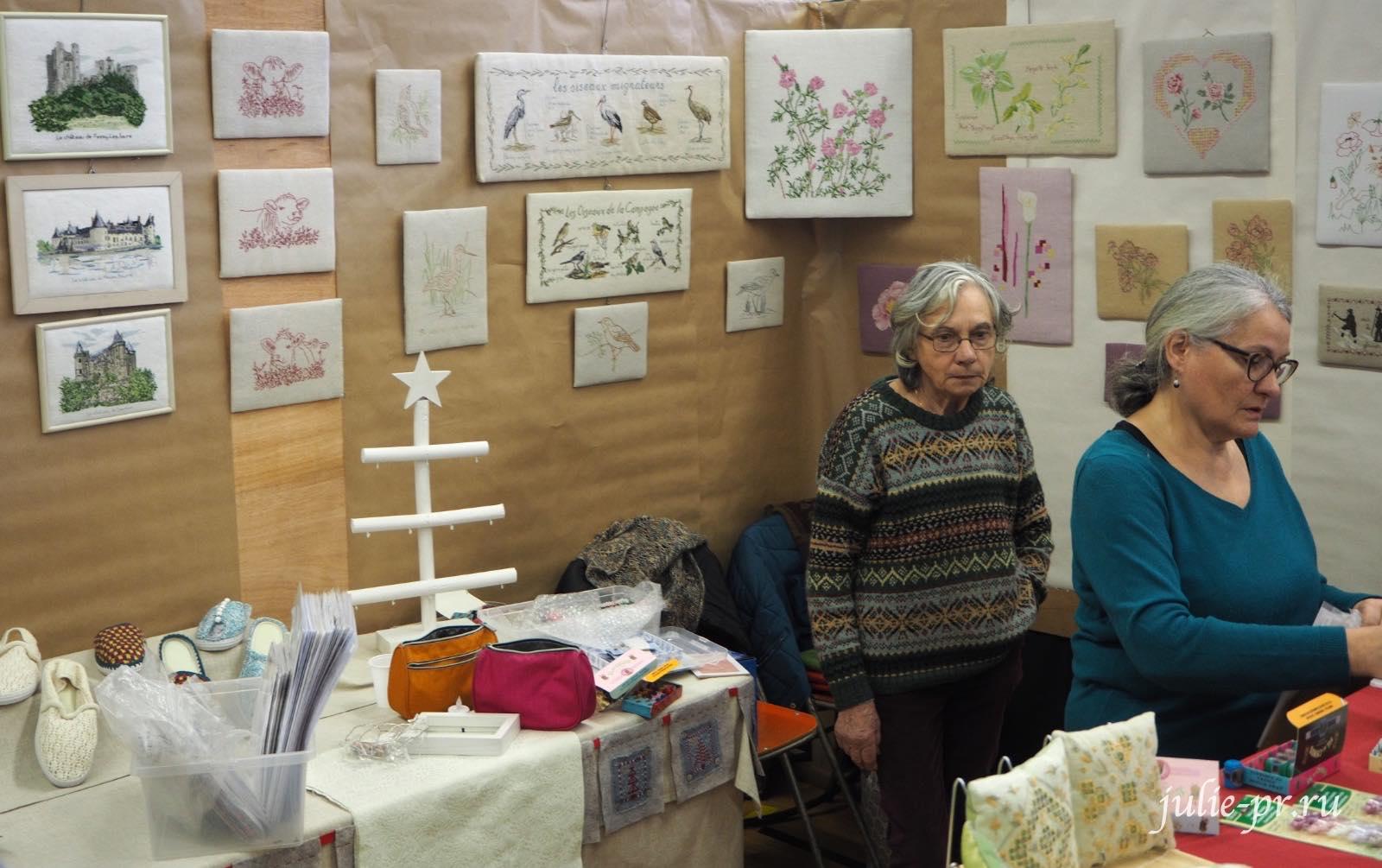 Bernadette Baldelli, вышивка крестом, Création autour du fil