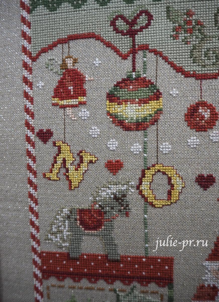 Madame la fee - Noel, вышивка крестом, Création autour du fil