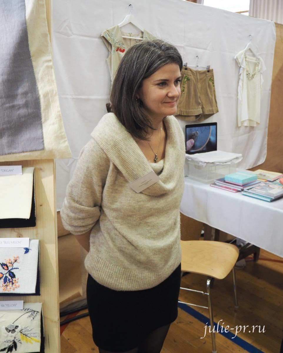 Création autour du fil, Helene le Berre, вышивка гладью
