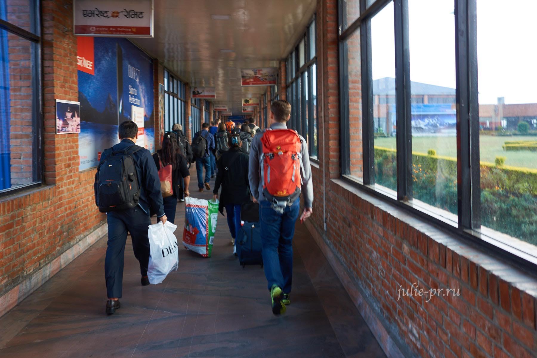 Непал, Катманду, аэропорт