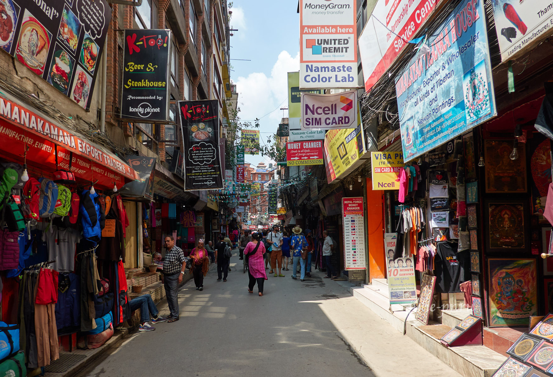 Непал, Катманду, Тамель
