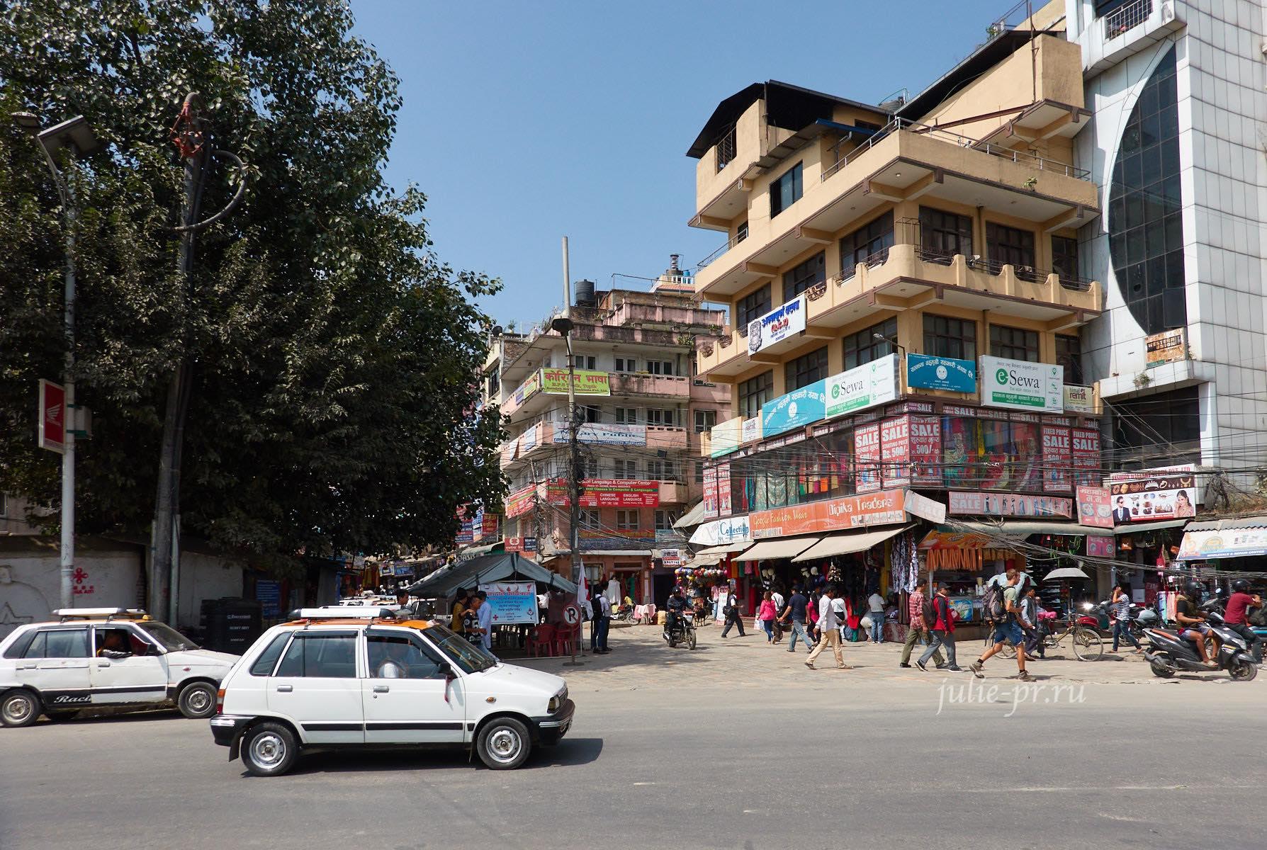 Непал, Катманду, улицы