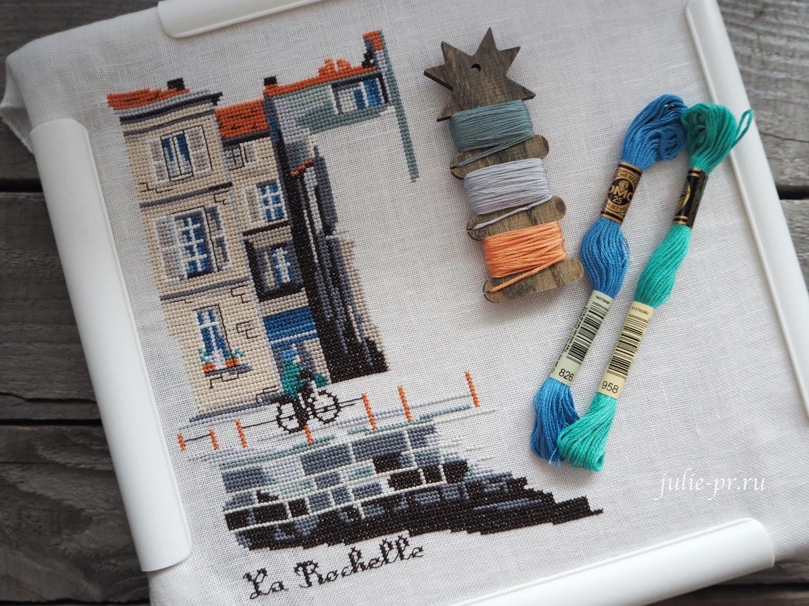 вышивка крестом, Isabelle Vautier, La Rochelle, Изабель Вотье, Ла Рошель