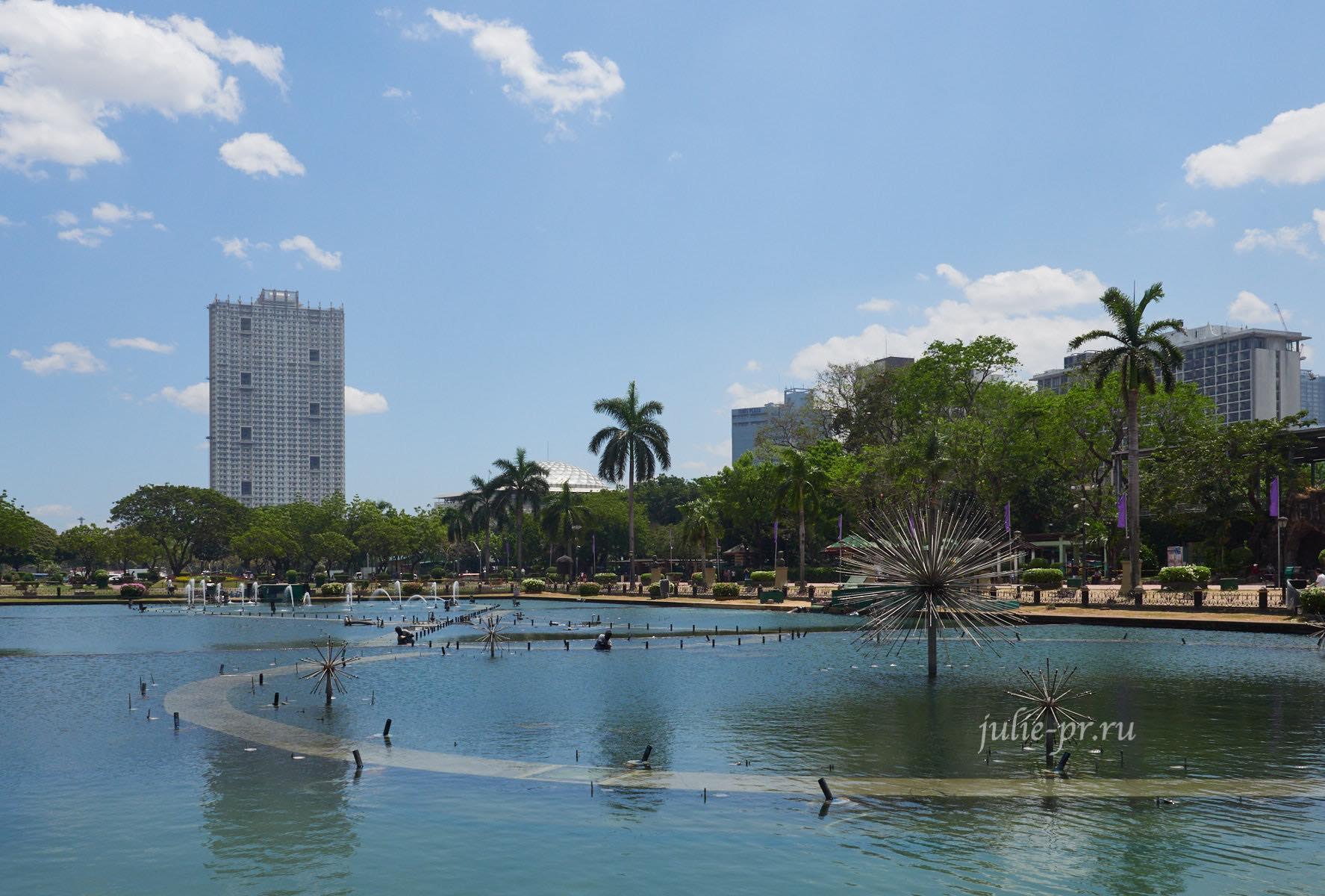 Филиппины, Манила, Rizal Park