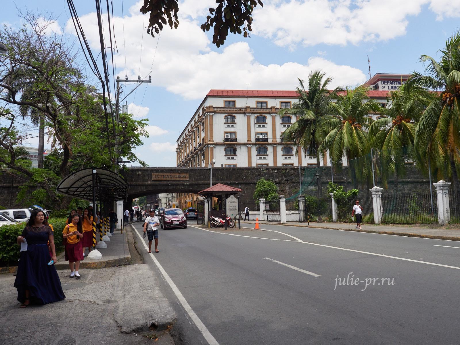 Филиппины, Манила, Intramuros