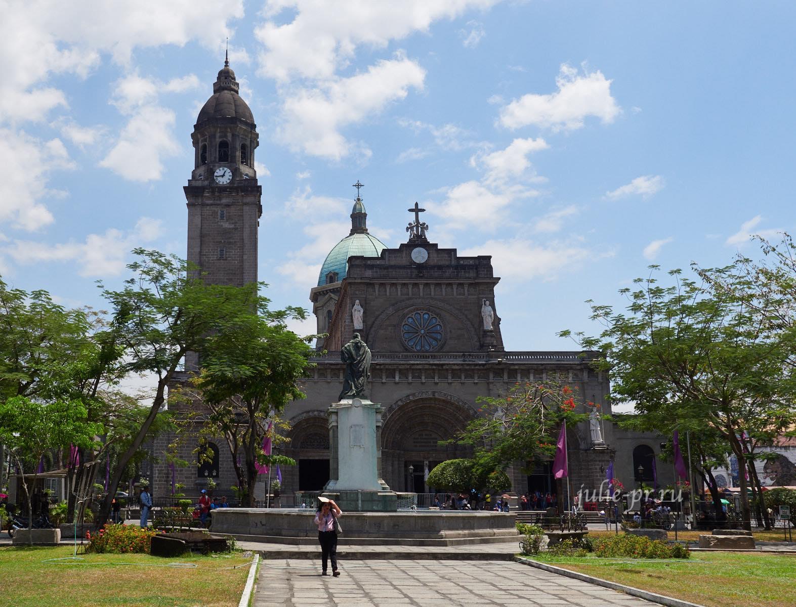Филиппины, Манила, Intramuros, Собор