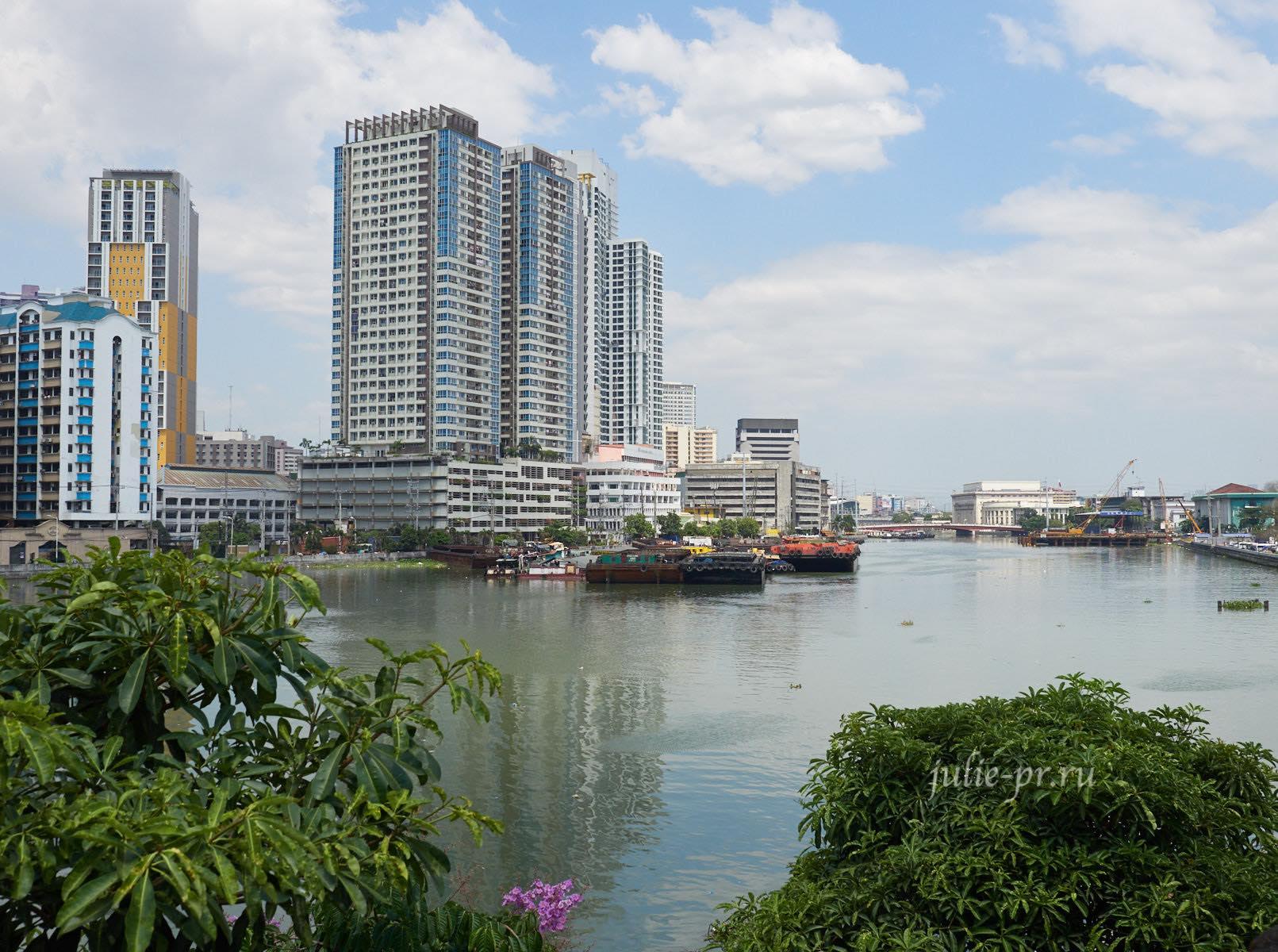 Филиппины, Манила, река Пасиг