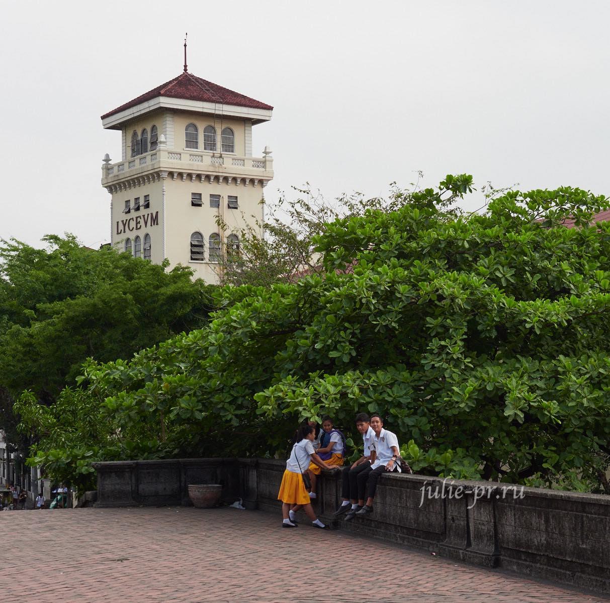Филиппины, Манила, студенты