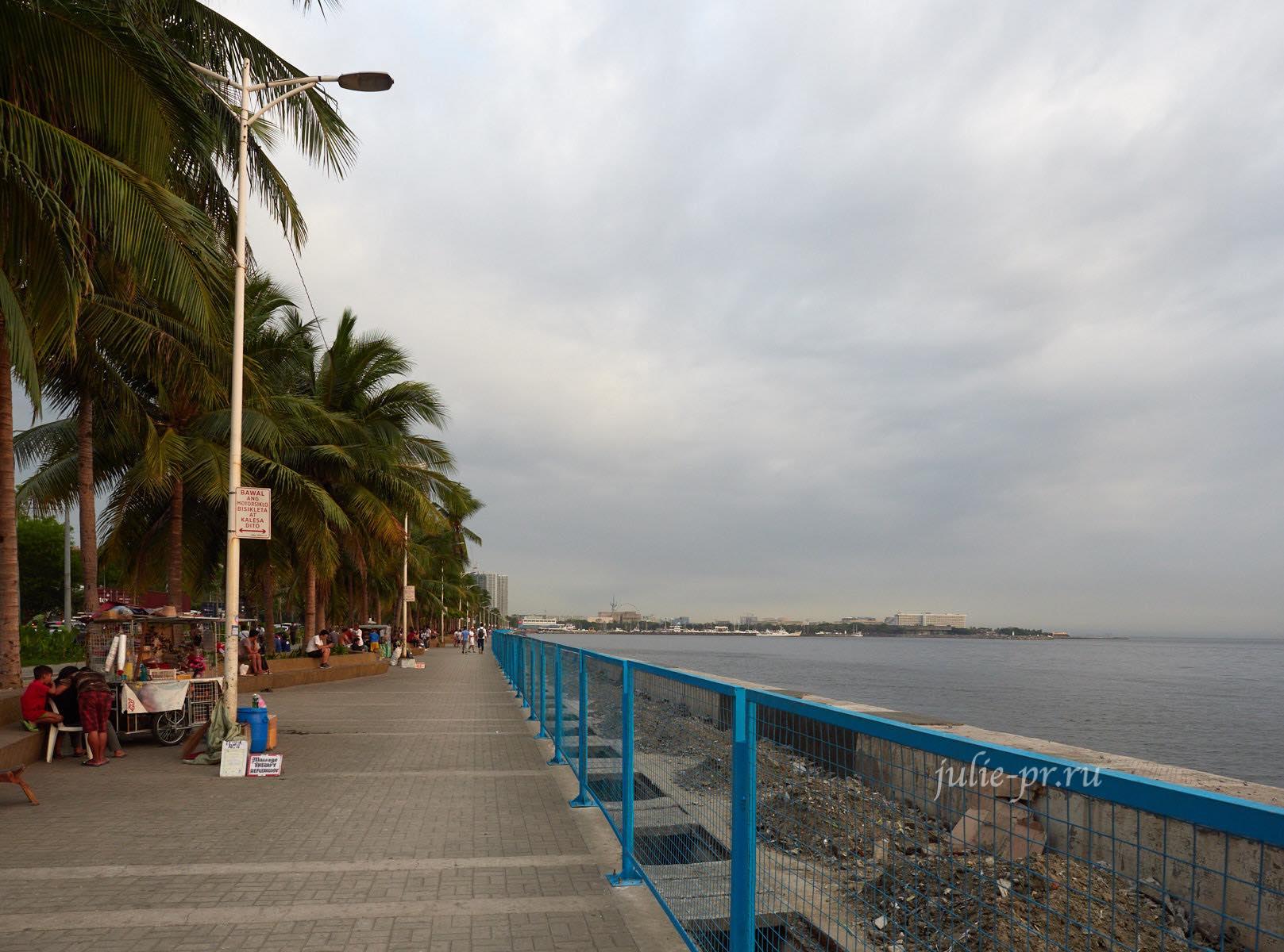Филиппины, Манила, набережная