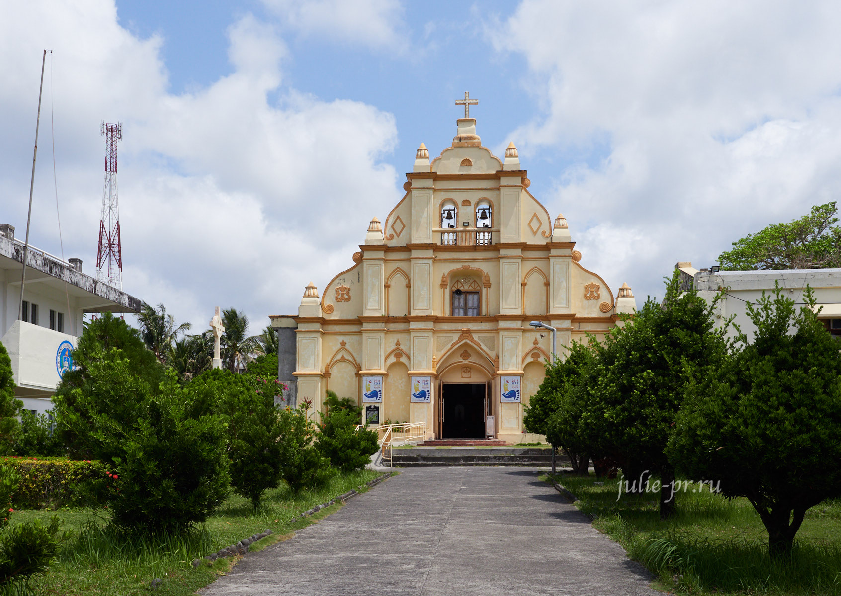 Филиппины, острова Батанес, Баско, церковь
