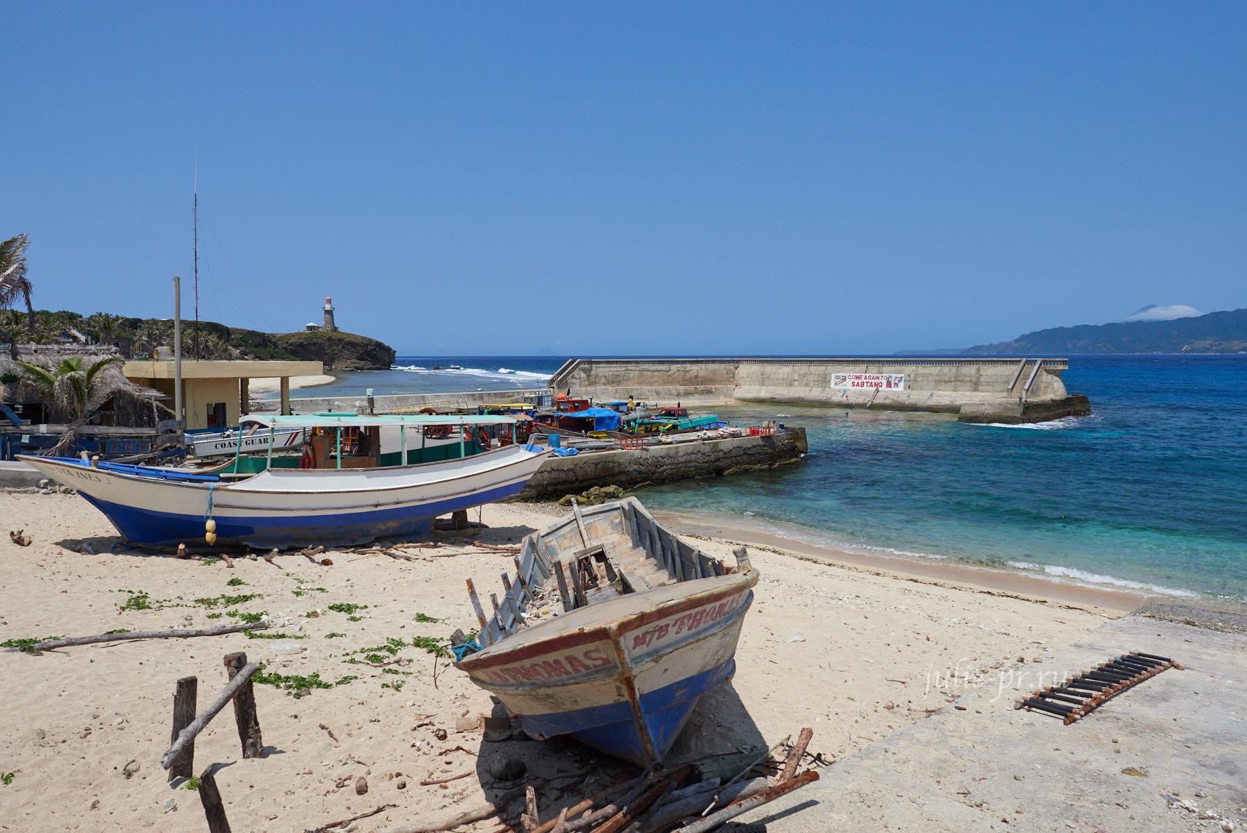 Филиппины, острова Батанес, порт