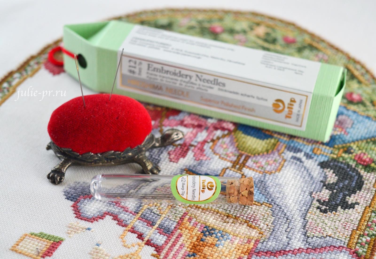 Иглы для вышивания Tulip, Teresa Wentzler - Under the Evergreen, вышивка крестом, Тереза Венцлер