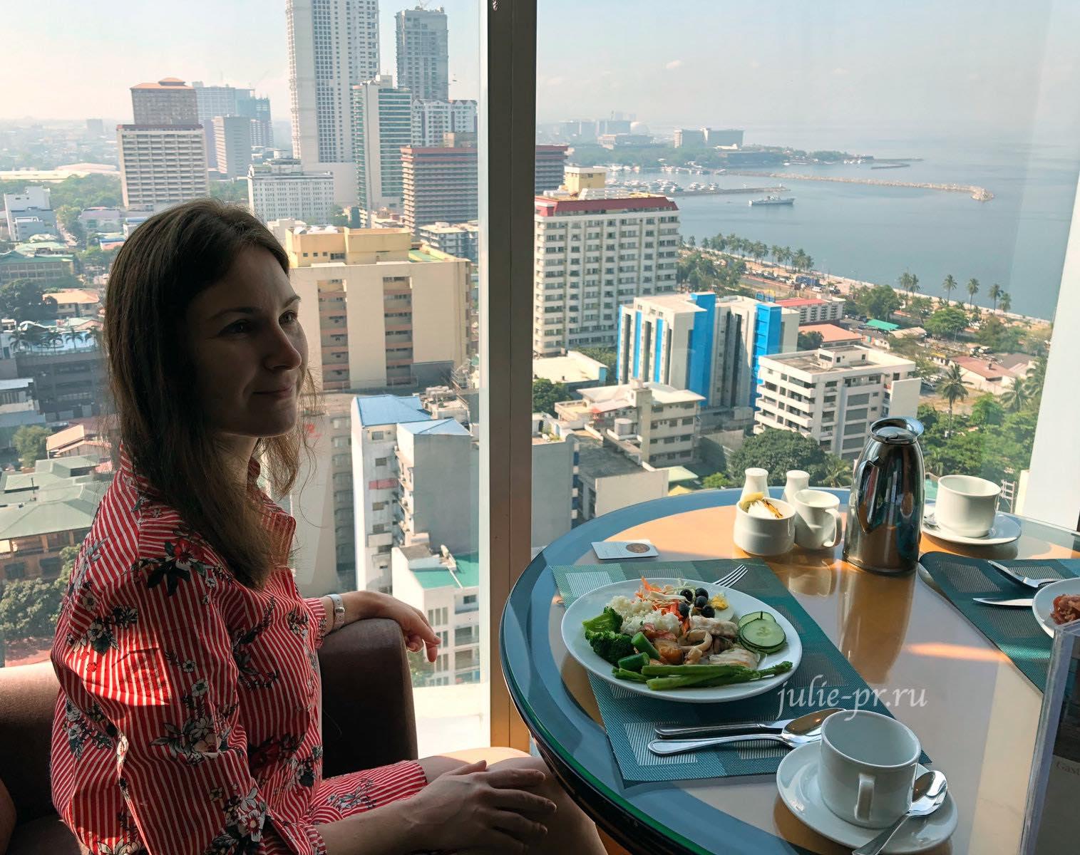 Филиппины, Манила, гостиница, завтрак