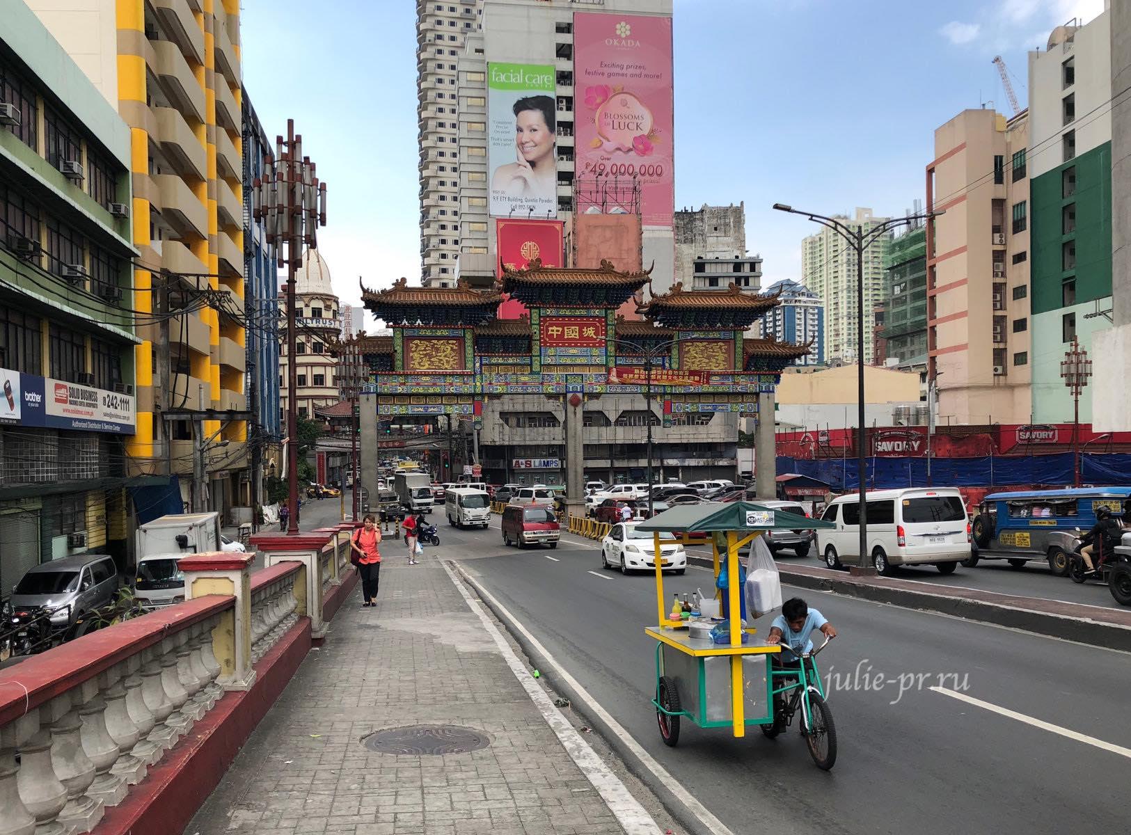 Филиппины, Манила, chinatown