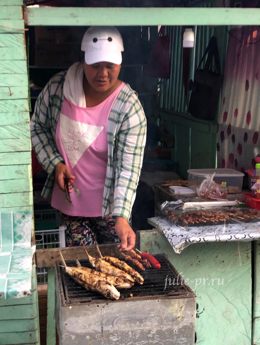 Филиппины, острова Батанес, Баско, рыба-гриль