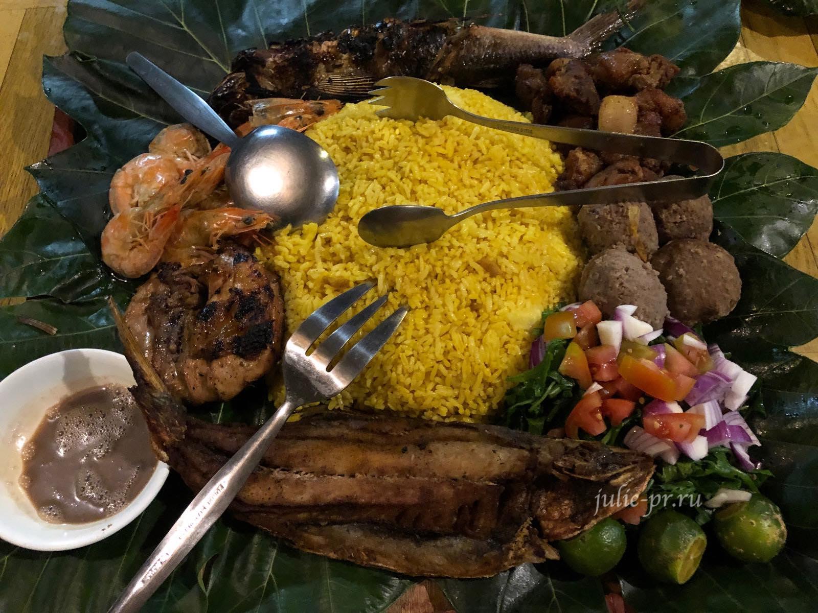 Филиппины, острова Батанес, иватанская кухня