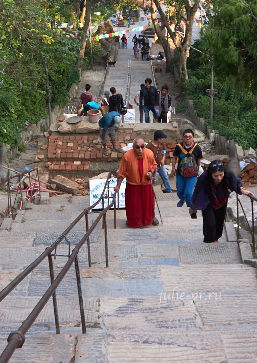 Непал, Катманду, Swayambhunath Temple