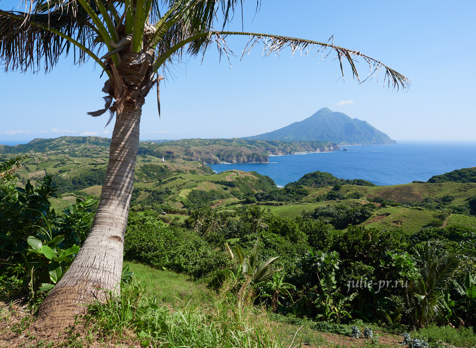 Филиппины, острова Батанес, Marlboro Hills, Mount Iraya