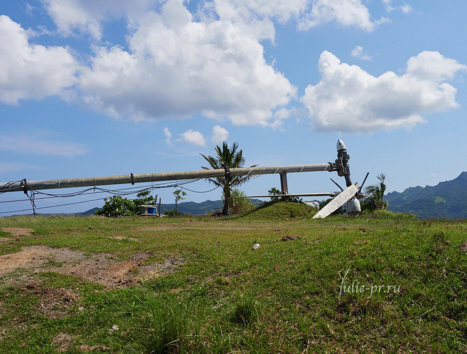 Филиппины, острова Батанес, ветряк