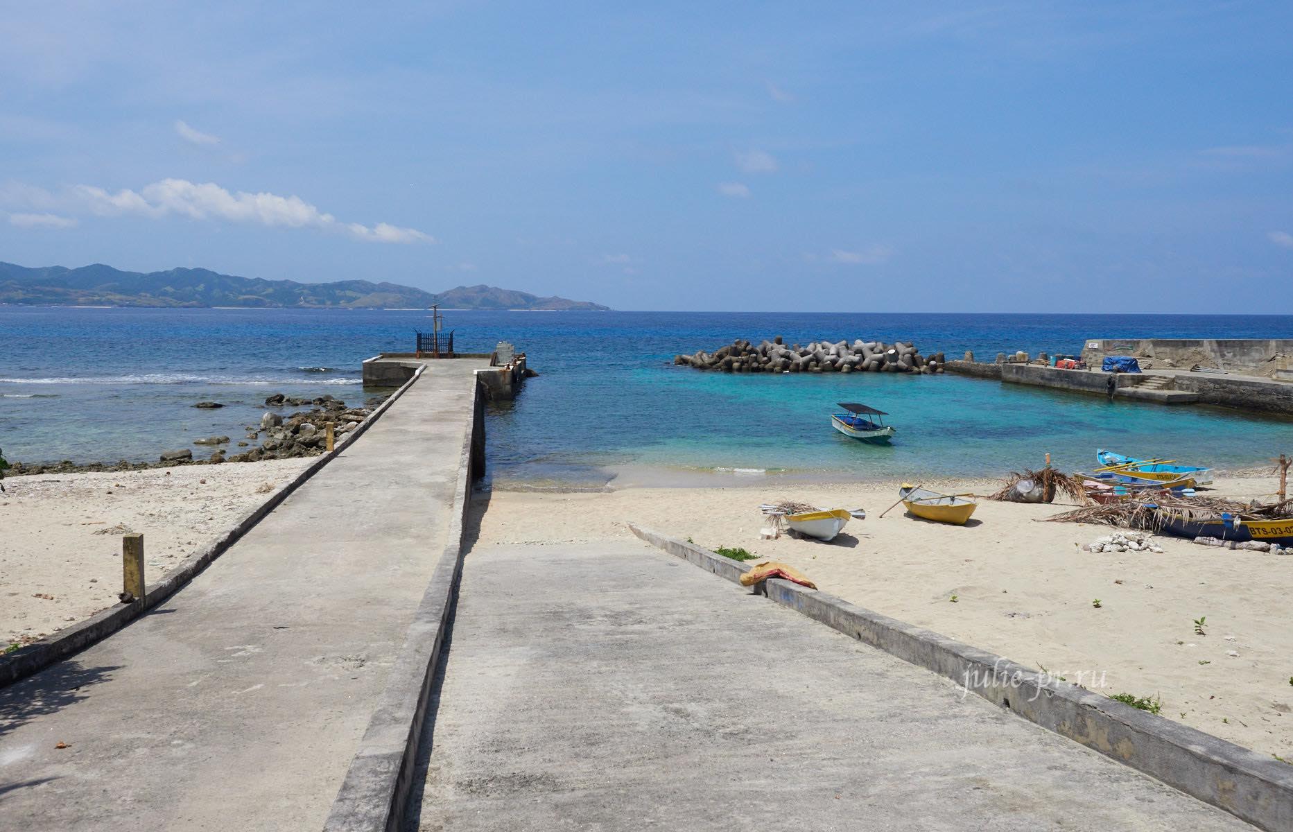Филиппины, острова Батанес, Ивана, порт
