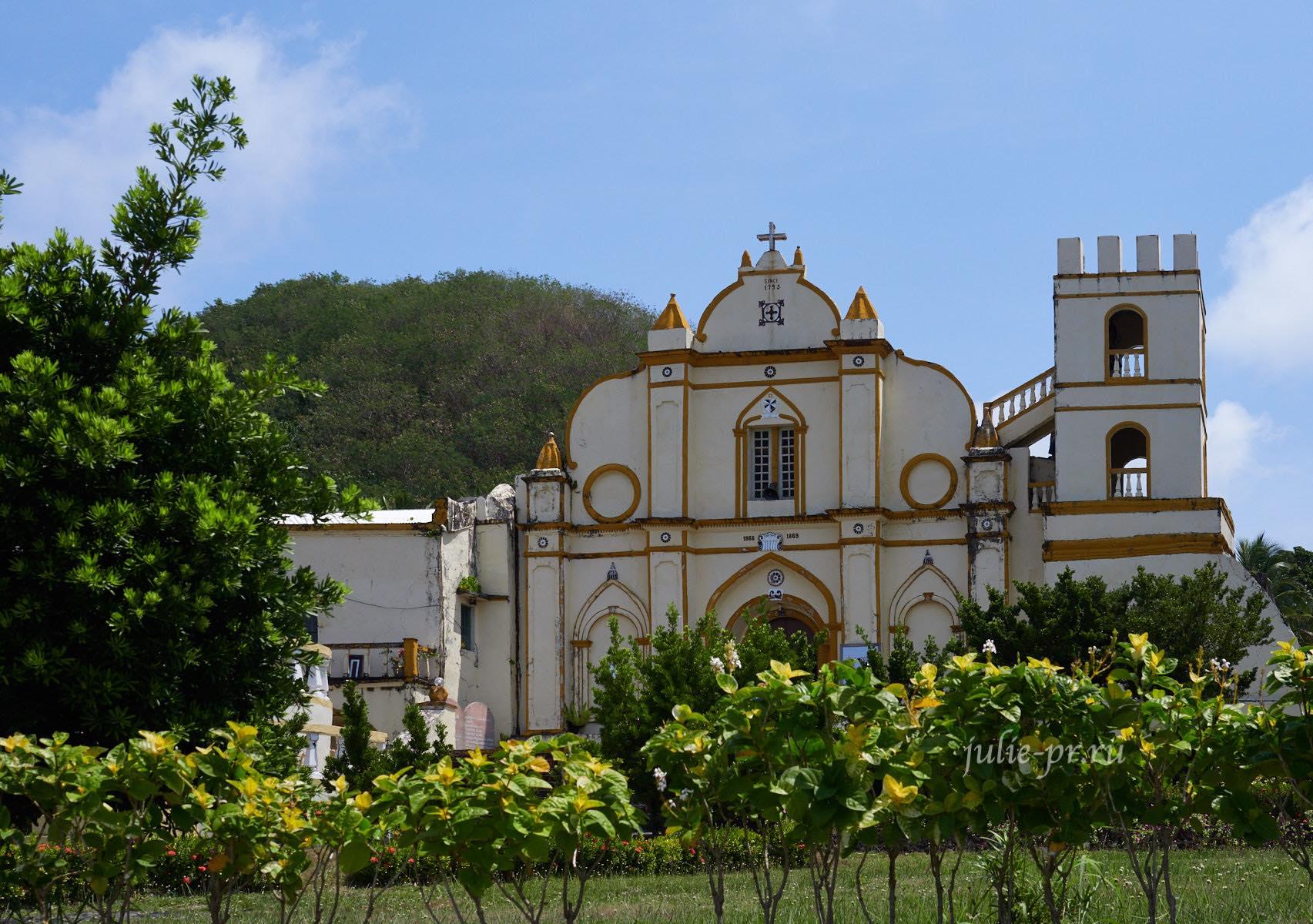 Филиппины, острова Батанес, Ивана, церковь