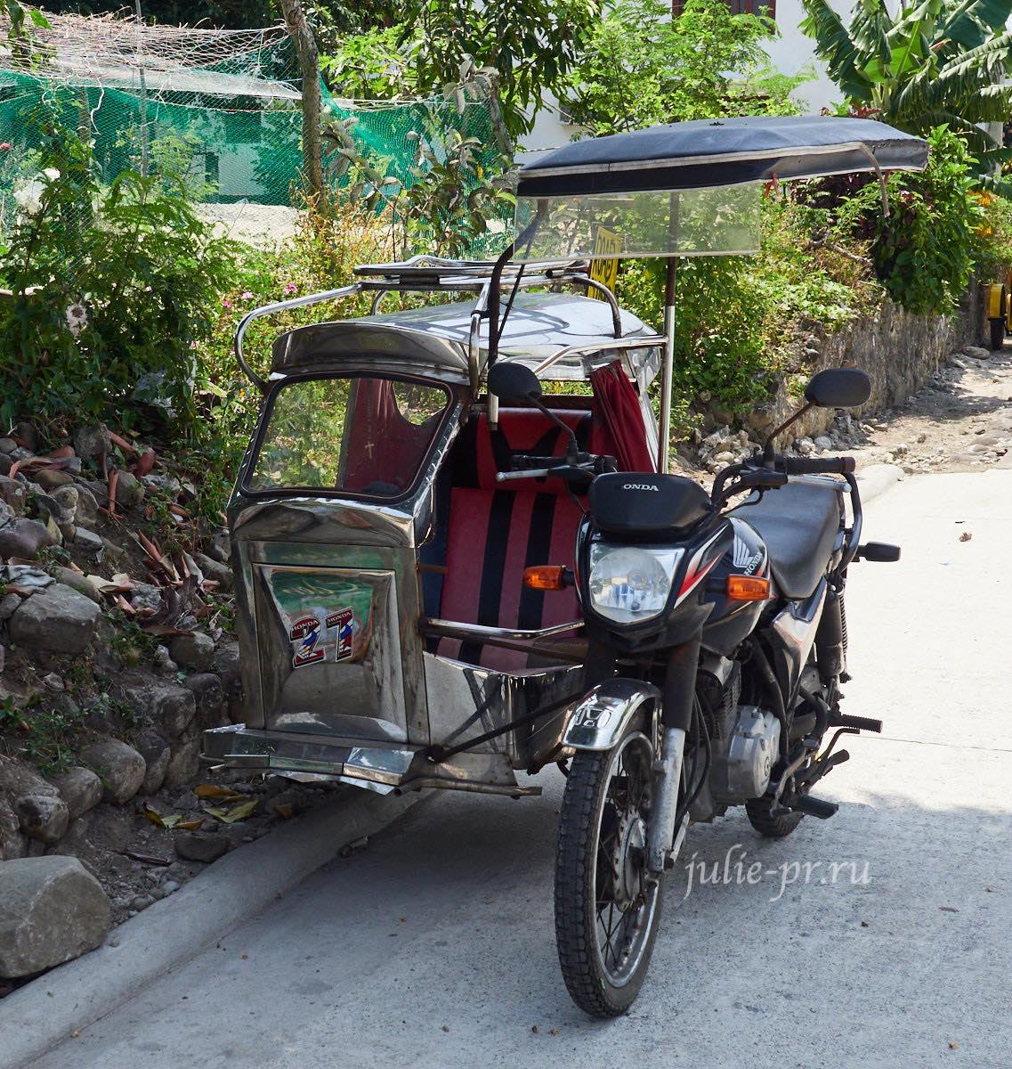 Филиппины, острова Батанес, мотоцикл