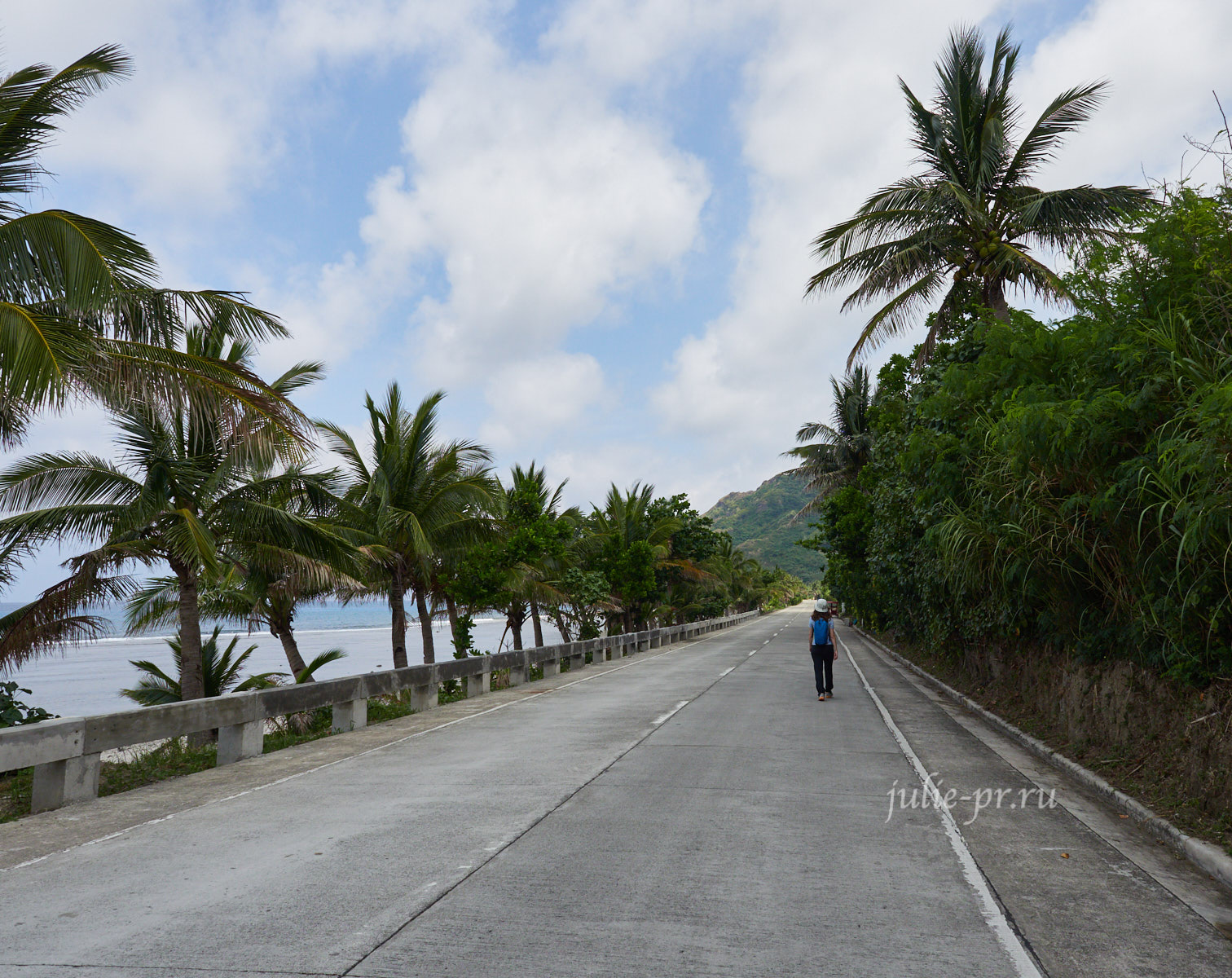 Филиппины, острова Батанес, дорога