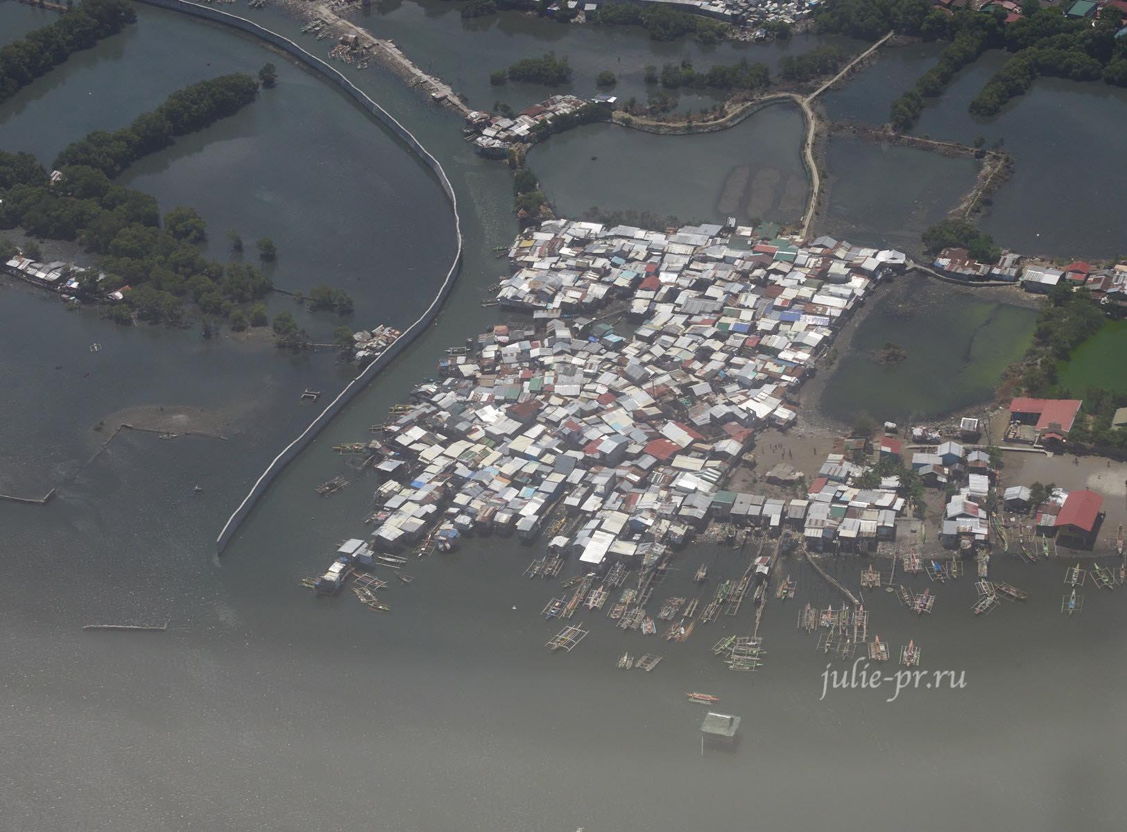 Филиппины, Манила, дома на воде