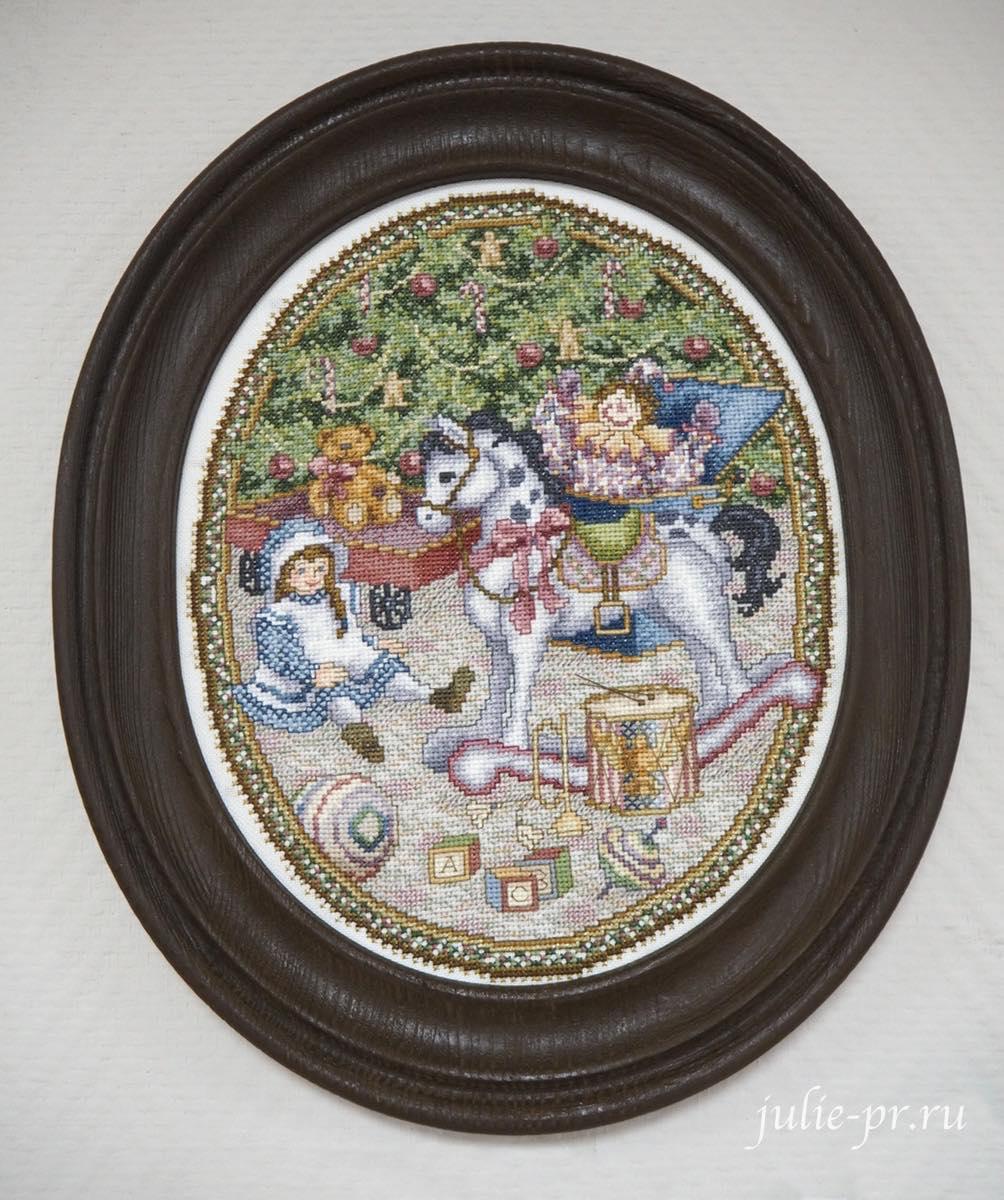 Тереза Венцлер, вышивка крестом, Teresa Wentzler, Under the Evergreen, Под