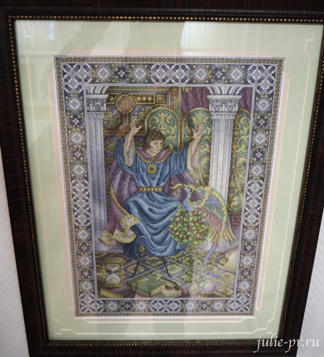 Тереза Венцлер, вышивка крестом, Teresa Wentzler, The Enchanter, Заклинатель