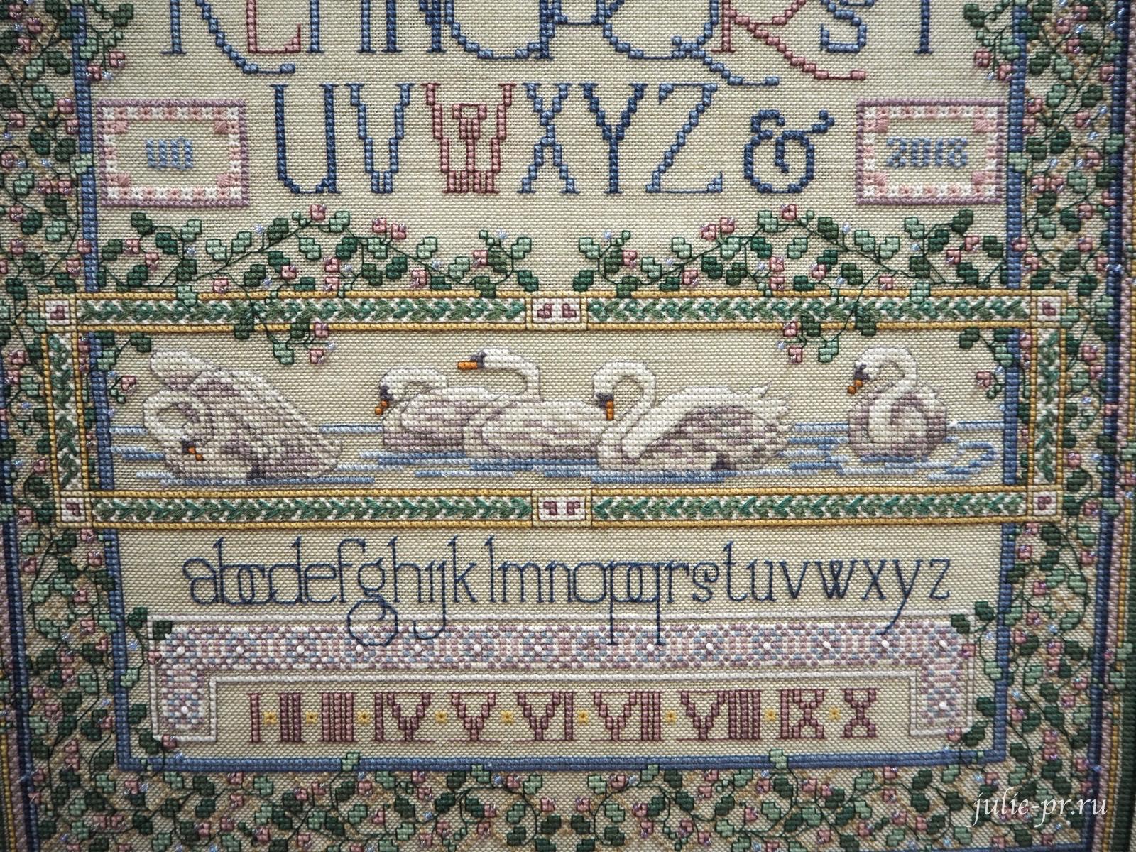 Тереза Венцлер, вышивка крестом, Teresa Wentzler, English Cottage Sampler, Семплер английский коттедж