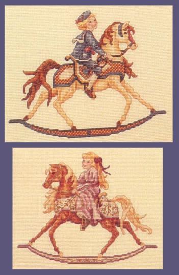 Teresa Wentzler, Alexander and Abigail, Тереза Венцлер, вышивка крестом